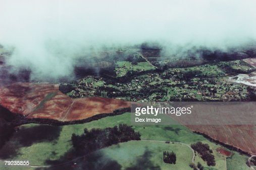 Aerial view of Maui, Hawaii, USA : Stock Photo
