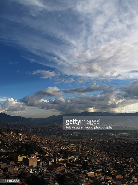 Aerial view of Medell?n