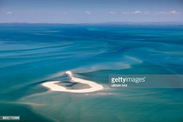 Aerial View of Moreton Bay Brisbane Australia