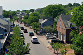 Aerial view of Nantucket