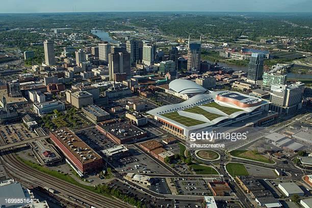 Vista aérea de Nashville Tennessee do Sul