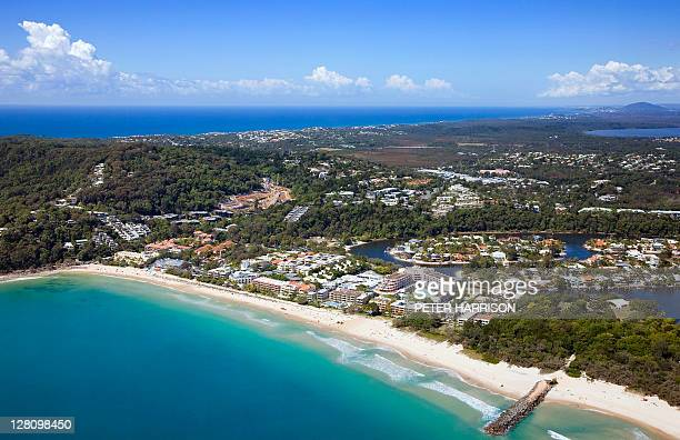 Aerial view of Noosa, Sunshine Coast, QLD, Australia