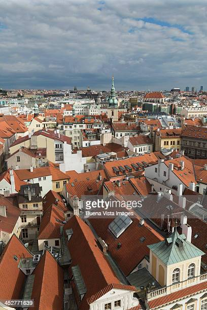 Aerial view of Old Prague.