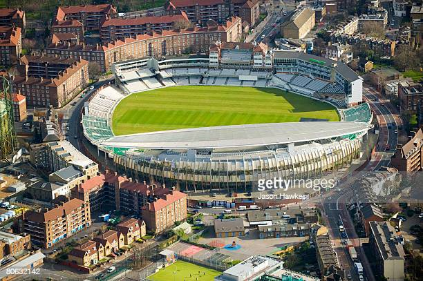 Aerial view of Oval Cricket Ground on March 25 2008 in London UK