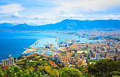 Aerial view of Palermo, Sicily, Italy