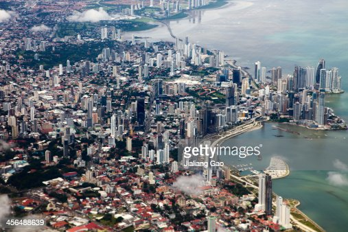 Aerial View of Panama City