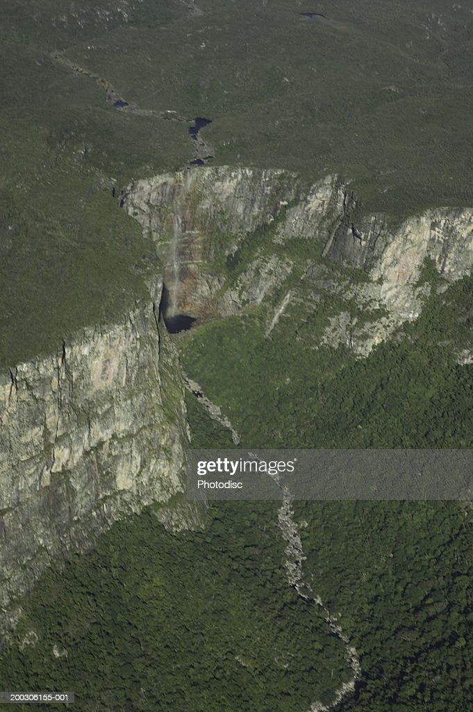 Aerial view of plateau : Stock Photo