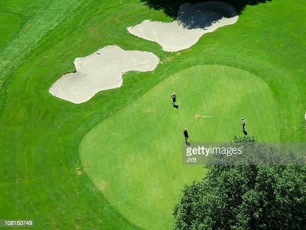 Golfplatz Grün