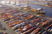 Aerial view of Port Authority Marine Terminal