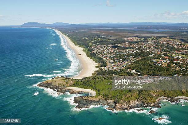 Aerial view of Port Macquarie, NSW, Australia