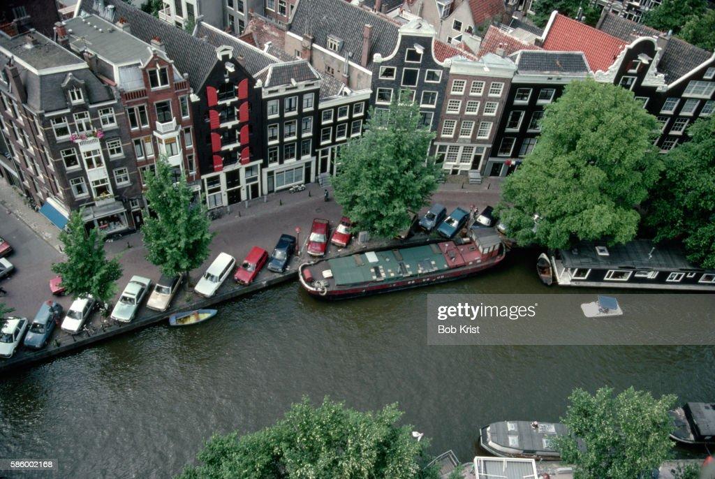 Aerial View of Prinsengracht