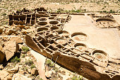 Pueblo Boniyo is the largest Great House built by Chacoans as a gathering place for visitors from throuhgout the region.