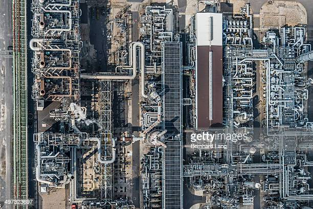 Aerial view of refinery