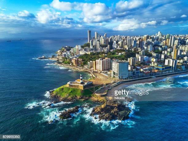 Luftaufnahme von Salvador da Bahia Stadt, Bahia, Brasilien