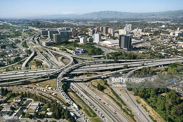 Aerial view of San Jose