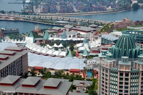 Aerial View of Sentosa, Singapore
