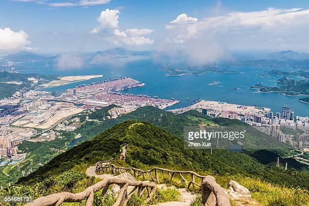 Aerial View of Shenzhen Yantian port