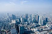 """Aerial View of Shinjuku, Tokyo"""