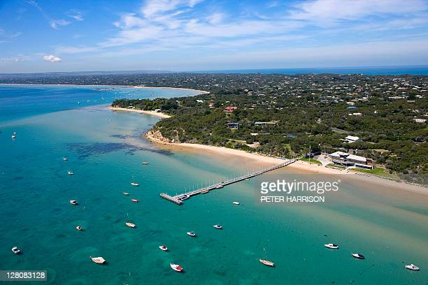 Aerial view of Sorrento, Victoria.