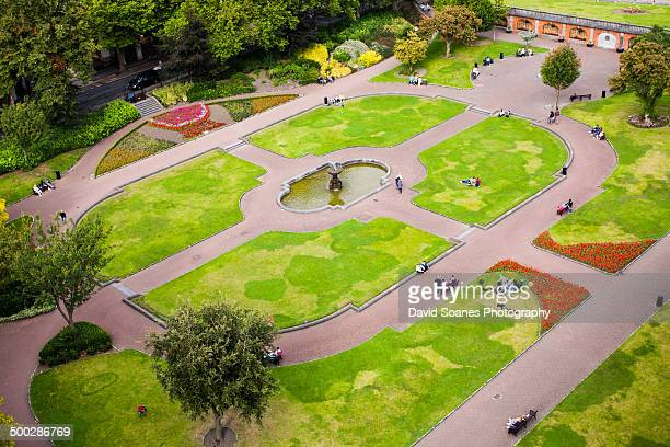 Aerial view of St. Patrick's Park, Dublin