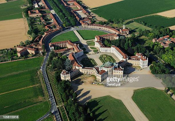 Vista aérea del Palacio Stupinigi