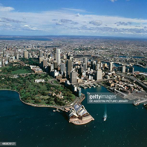 Aerial view of Sydney New South Wales Australia