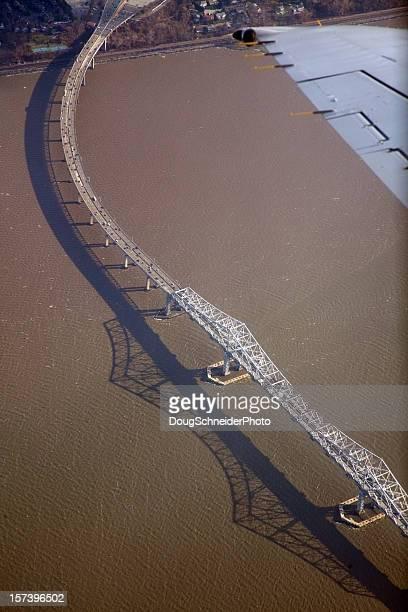 Aerial View of Tappan Zee Bridge