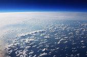 Sky landscape background material