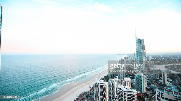 Aerial View Of The Gold Coast Waterfront