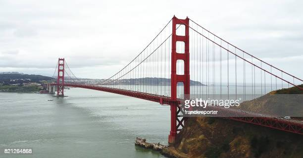 Luftbild von der golden Gate bridge