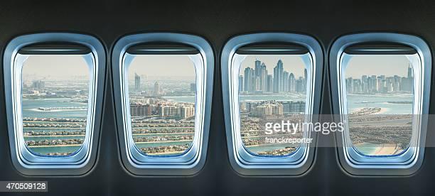 Vue aérienne du palm de jumeirah