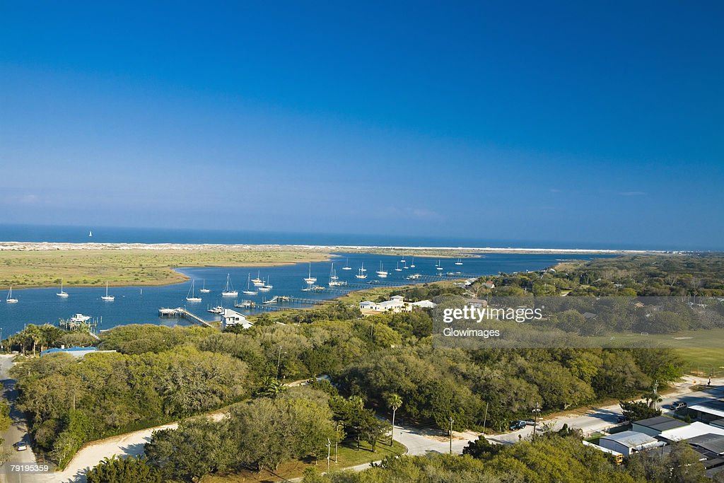 Aerial view of the sea, St. Augustine beach, Florida, USA