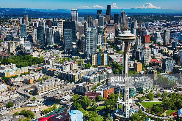 Aerial View of the Seattle Skyline