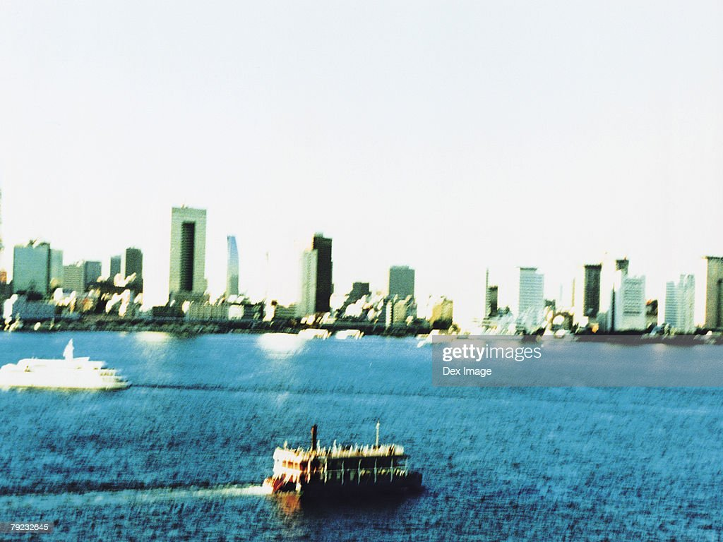 Aerial View of Tokyo Bay, Japan : Stock Photo