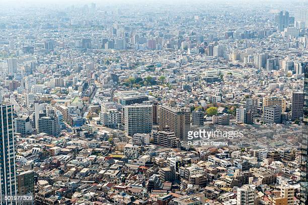 ??Aerial view of Tokyo city