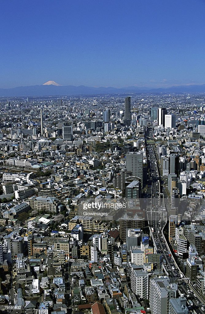 Aerial view of Tokyo, Japan : Stock Photo