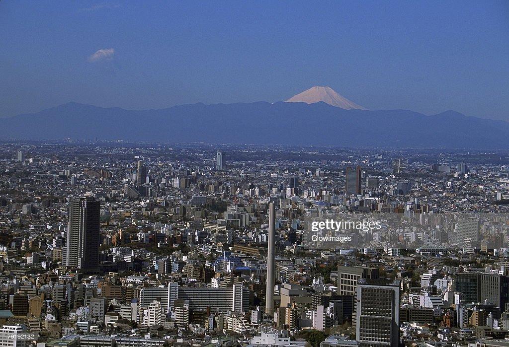 Aerial view of Tokyo, Japan : Foto de stock