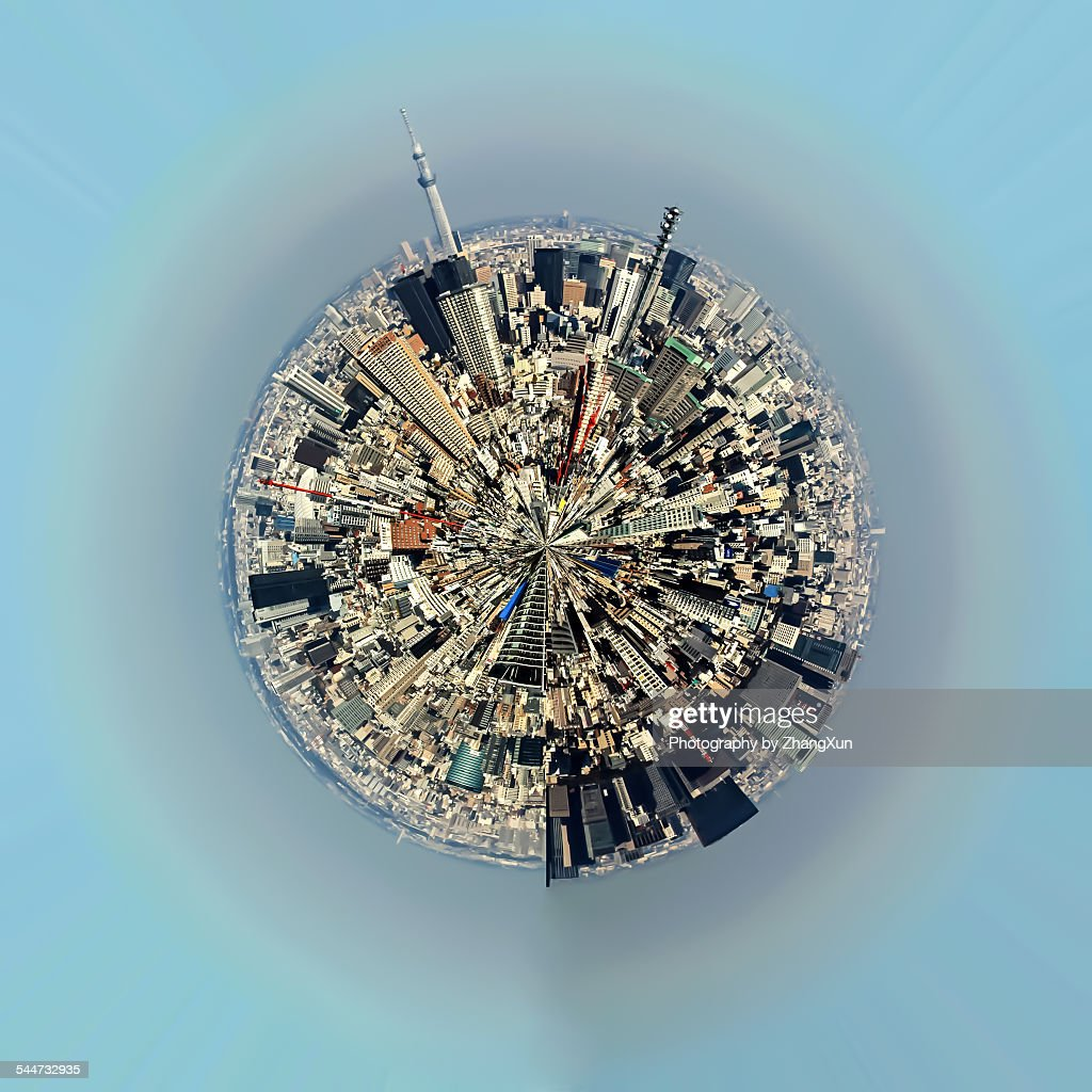 Aerial view of urban landscape of Tokyo : Photo