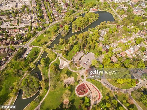 Aerial View of Victoria Park, Kitchener