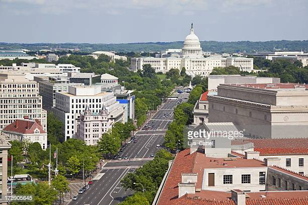 Aerial view of Washington DC # 1 XXXL