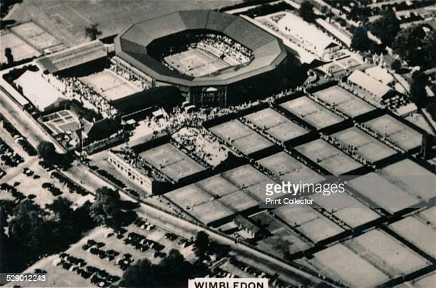 Aerial view of Wimbledon 1939 The All England Lawn Tennis and Croquet Club also known as the AllEngland Club was founded on 23 July 1868 From the...