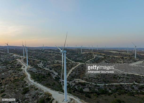 Vertical Axis Wind Turbine Stock Photos And Pictures