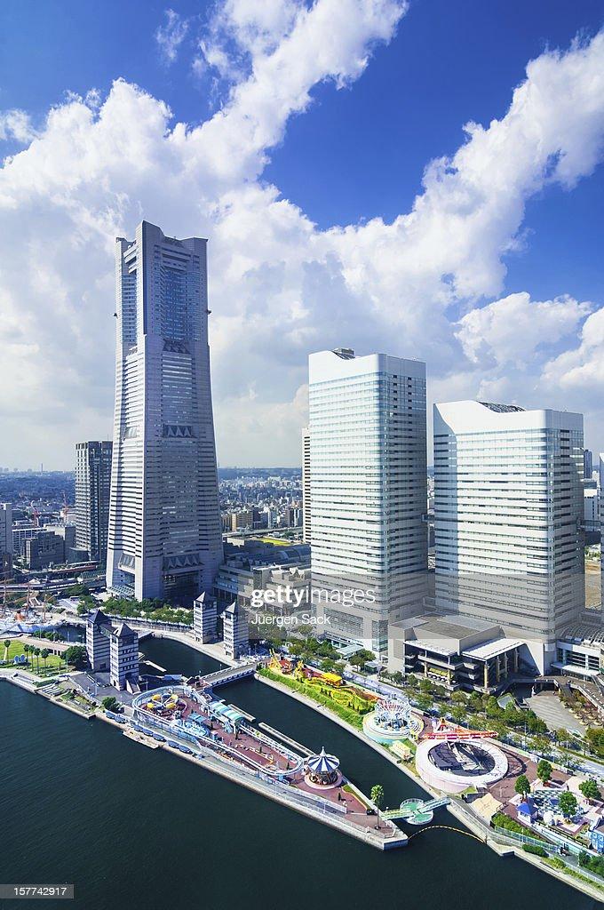 Aerial View on the Yokohama Minato Mirai