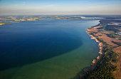 Aerial view, Waren National Park, Waren, Mecklenburg Lake District or Mecklenburg Lakeland, Mecklenburg-Western Pomerania, Germany