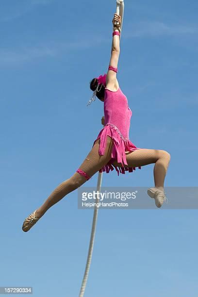 Trapezista circus performance