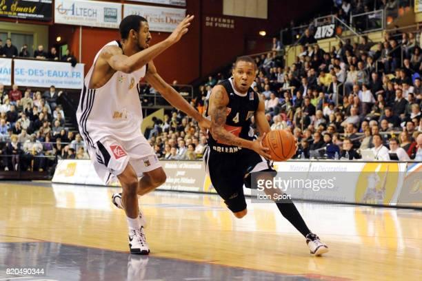 Aerick SANDERS / Cedrick BANKS Dijon / Orleans 22 eme journee de Pro A