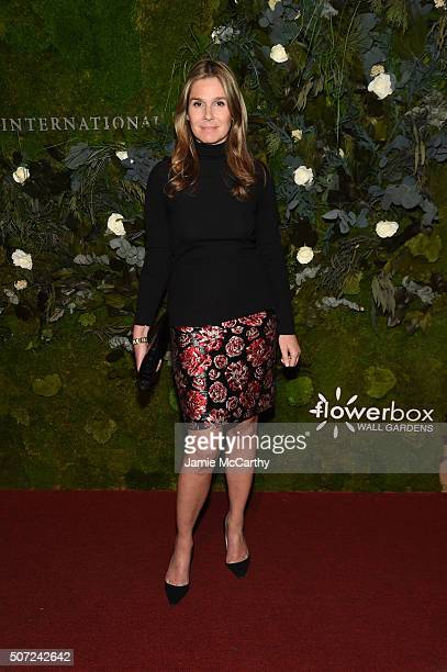 Aerin Lauder Aerin attends the 19th Annual Fashion Group International Rising Star Awards at Cipriani 42nd Street on January 28 2016 in New York City