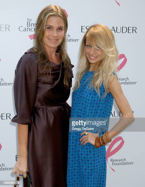 Aerin Lauder and Nicole Richie during Aerin Lauder Hosts Luncheon in Honor of Gwyneth Paltrow's 'Pleasures of Gwyneth Paltrow' Collection Arrivals at...