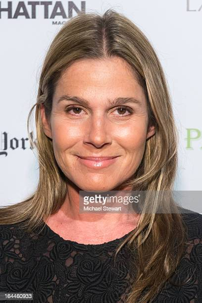 Aerin Lauder attends DIFFA 16th Annual Dining By DesignCocktails By Design at Pier 94 on March 23 2013 in New York City
