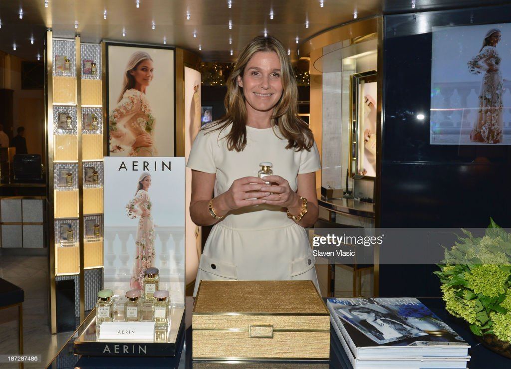 <a gi-track='captionPersonalityLinkClicked' href=/galleries/search?phrase=Aerin+Lauder&family=editorial&specificpeople=223890 ng-click='$event.stopPropagation()'>Aerin Lauder</a> attends the AERIN Fragrance Launch at Saks Fifth Avenue on November 7, 2013 in New York City.